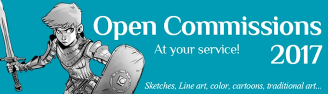 Open Commissions 2017